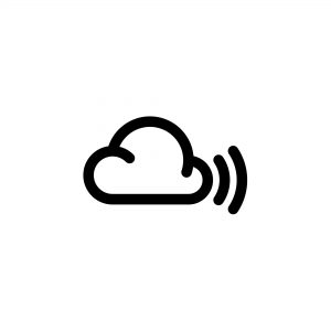 cloudblackonwhite