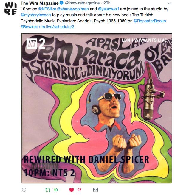 The Wire Rewired tweet