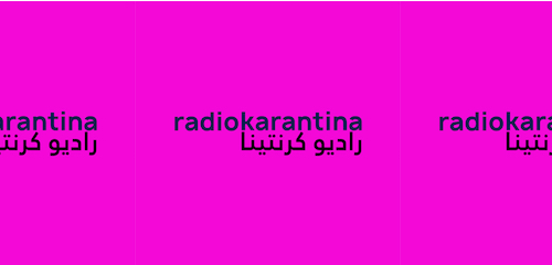 Guest show on Radio Karantina 14 June 2020